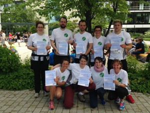 Das Laufteam der Dosing GmbH.